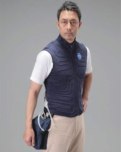 Gilet-Style Cooling Underwear SCB-14001