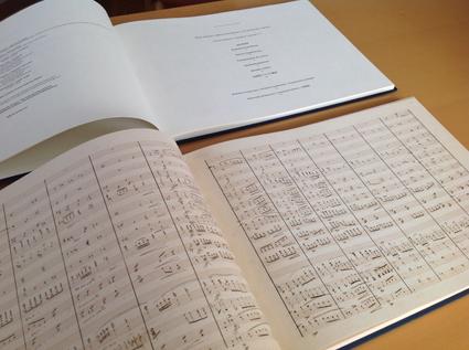 ショパンの手稿譜