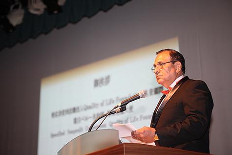 ペルー大使閣下による開会のご挨拶