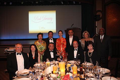 VIPゲストの皆様と各大使閣下ご夫妻