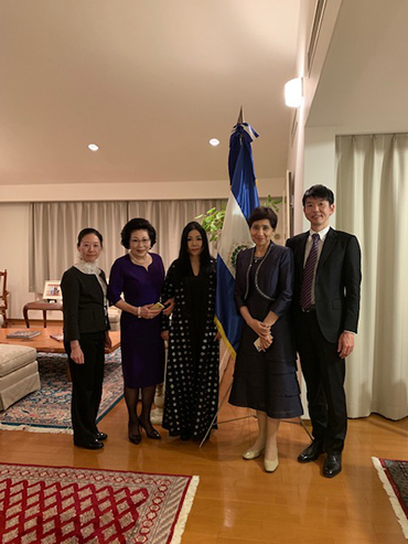 The Ambassador and the guests of the night