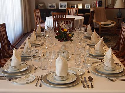 クロアチア共和国大使館 大使閣下公邸での晩餐会 8名様ご招待