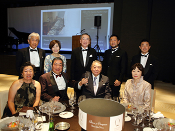 Charity gala dinner Mr. Tadamori Oshima, Speaker of the House of Representatives of Japan and guests